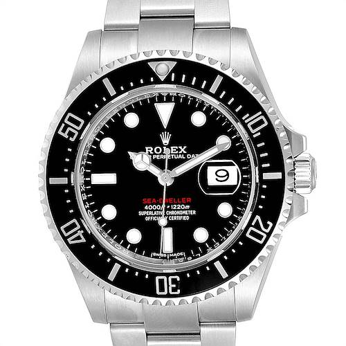 Photo of Rolex Seadweller 43mm 50th Anniversary Steel Mens Watch 126600 Box