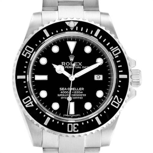 Photo of Rolex Seadweller 4000 Automatic Steel Mens Watch 116600