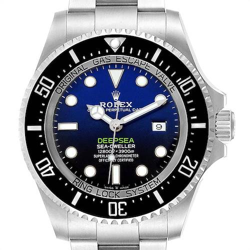 Photo of Rolex Seadweller Deepsea 44 Cameron D-Blue Mens Watch 126660 Unworn