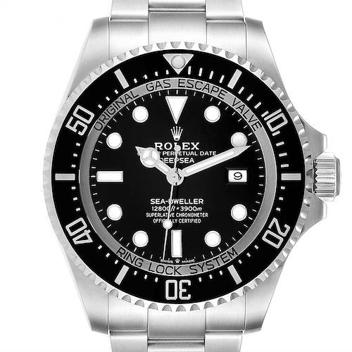 Photo of Rolex Seadweller Deepsea 44 Black Dial Steel Mens Watch 126660