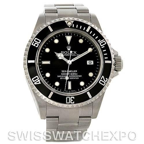 3090 Rolex Seadweller Oyster Perpetual Steel Mens 16600 SwissWatchExpo