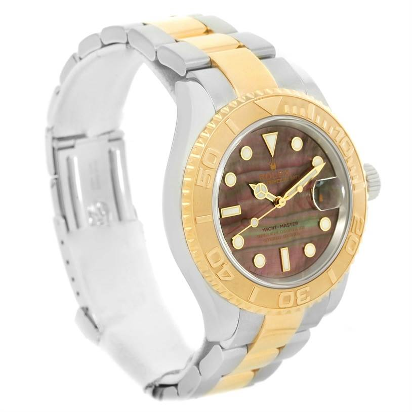 rolex watches yachtmaster mens steel and gold