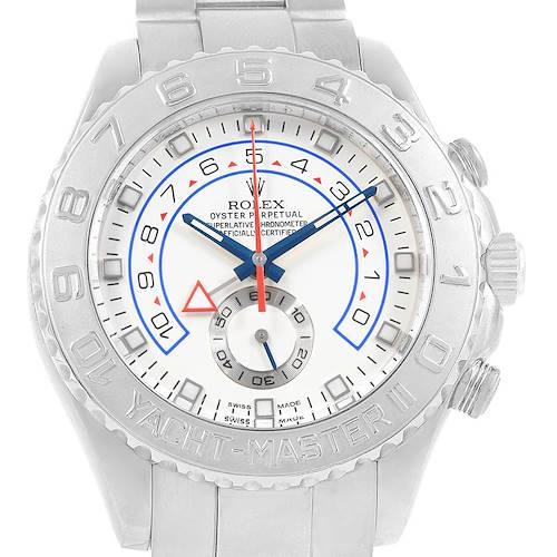 Photo of Rolex Yachtmaster II Regatta Chronograph White Gold Platinum Watch 116689