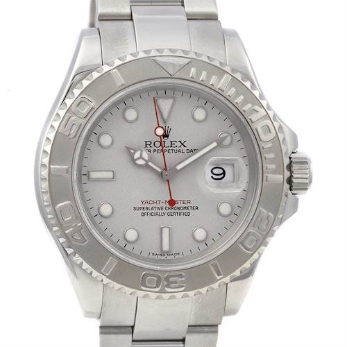Photo of Rolex Mens Ss & Platinum Yachtmaster 16622 From 2006
