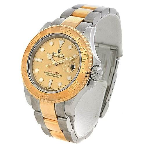 rolex mens steel 18k yellow gold yachtmaster 16623