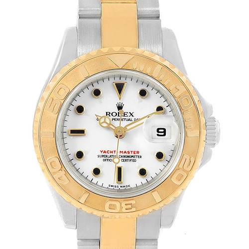 Photo of Rolex Yachtmaster Steel Yellow Gold Ladies Watch 169623 Box Papers