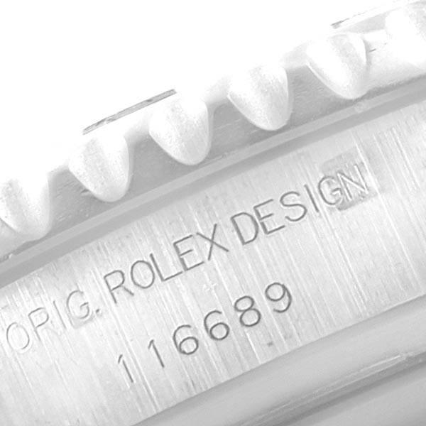 Rolex Yachtmaster II Regatta Chronograph White Gold Platinum Watch 116689 SwissWatchExpo