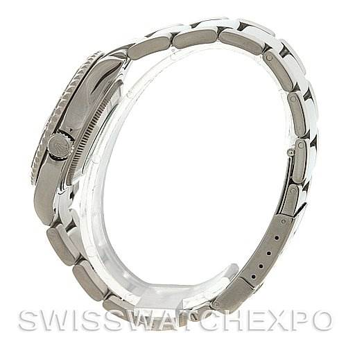 2700 Rolex  Steel & Platinum Yachtmaster Midsize 168622 SwissWatchExpo