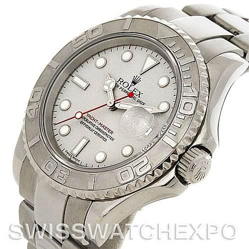 2768 Rolex  Mens SS & Platinum Yachtmaster 16622 Year 2001 SwissWatchExpo