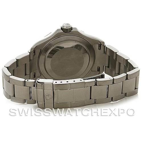 2809 Rolex  Mens SS & Platinum Yachtmaster 16622 Year 2007 SwissWatchExpo