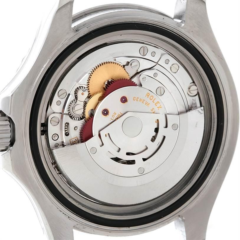 7835 Rolex Yachtmaster Mens Steel Platinum Watch 16622 SwissWatchExpo