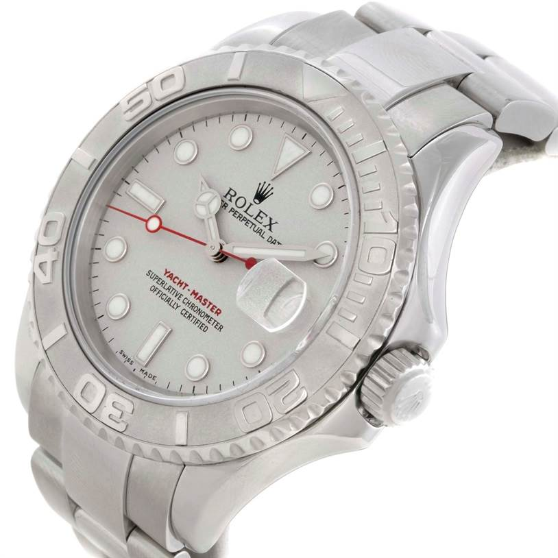 Rolex yachtmaster platinum retail price for Retail price watches