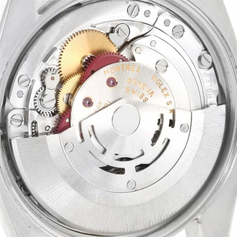 12231 Rolex Air King White Roman Dial Automatic Mens Watch 114200 SwissWatchExpo
