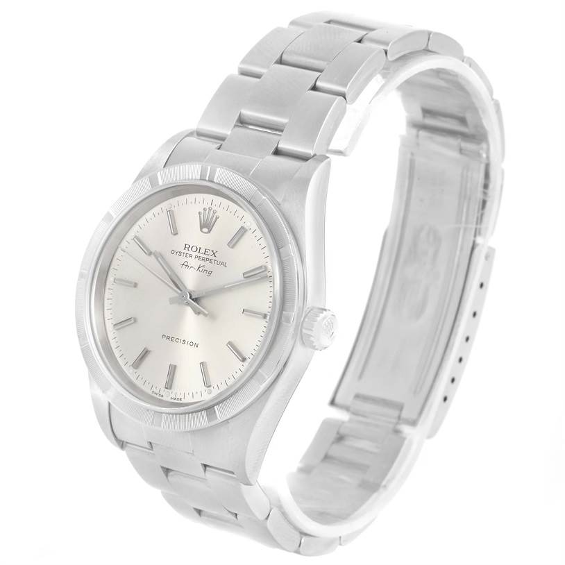 Mens air king stainless steel watch rolex - Hindi movie