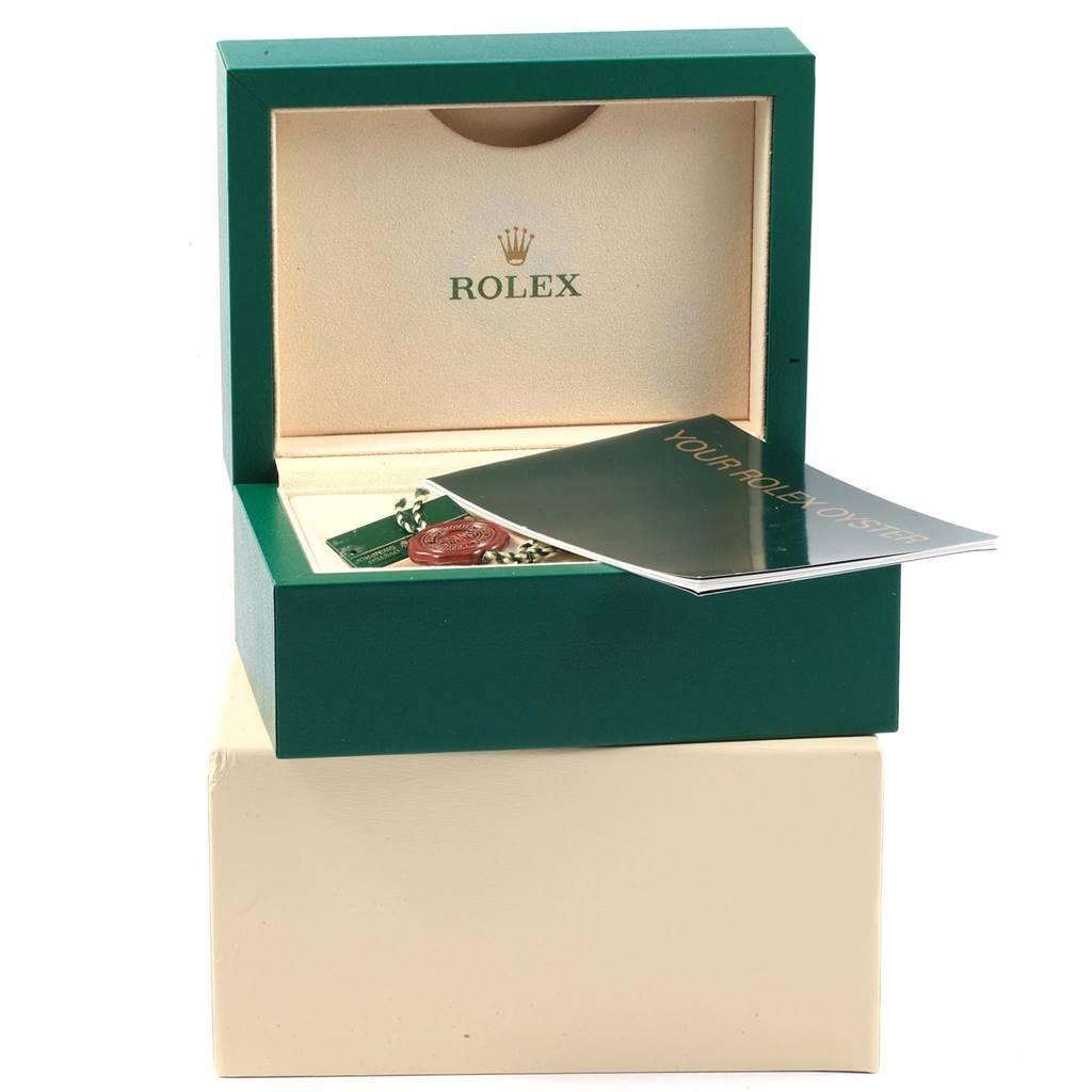 Rolex Air King White Roman Dial Steel Unisex Watch 114200 Box SwissWatchExpo