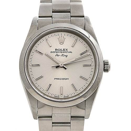2381 Rolex Ss Oyster Perpetual Air King Watch 14000 SwissWatchExpo