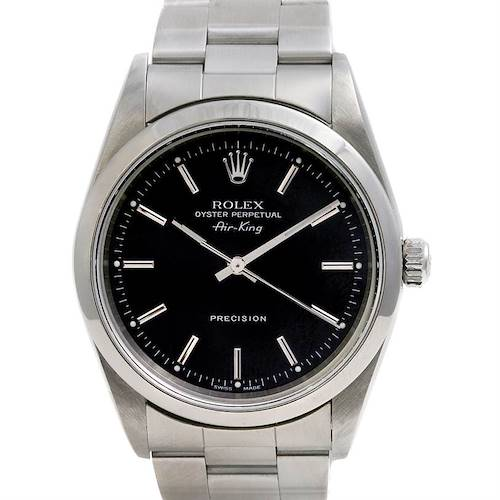 Photo of Rolex Ss Oyster Perpetual Air King Watch 14000