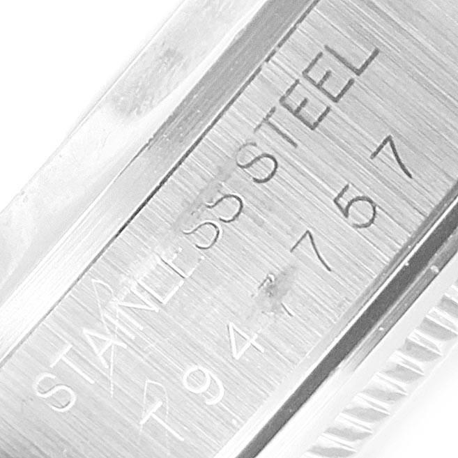 22952 Rolex Air King 34 Domed Bezel Blue Dial Steel Mens Watch 14000 SwissWatchExpo