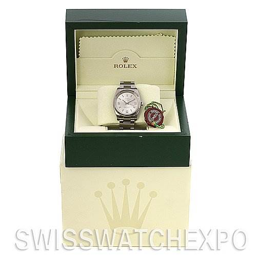 2536 Rolex Ss & 18 w Gold Oyster Perpetual Air King 114234 SwissWatchExpo