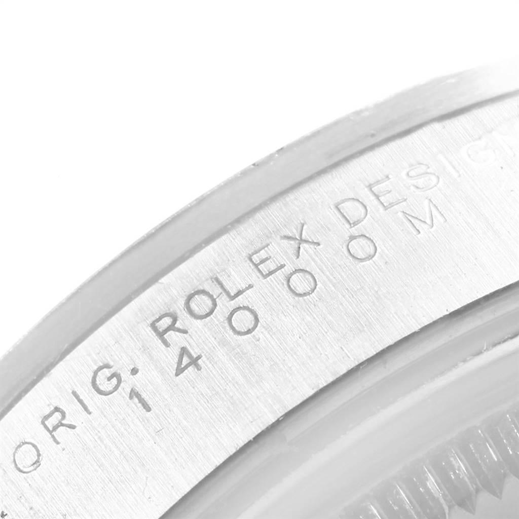 Rolex Air King 34 Black Dial Domed Bezel Mens Watch 14000 SwissWatchExpo