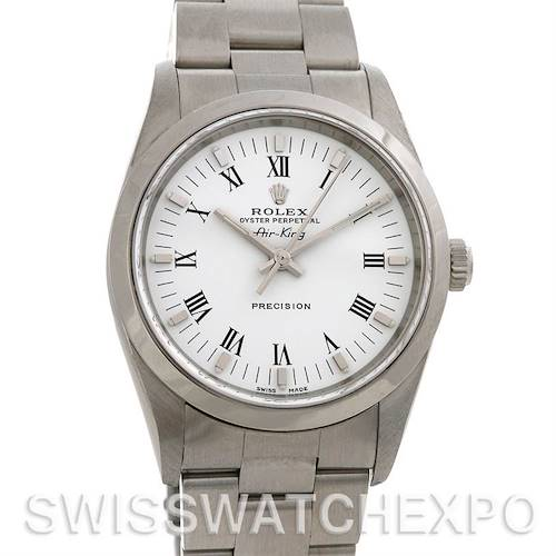 Photo of Rolex Oyster Perpetual Air King Watch 14000M NOS Unworn
