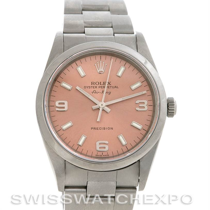 2631 Rolex Oyster Perpetual Air King Watch 14010 Year 2002 SwissWatchExpo