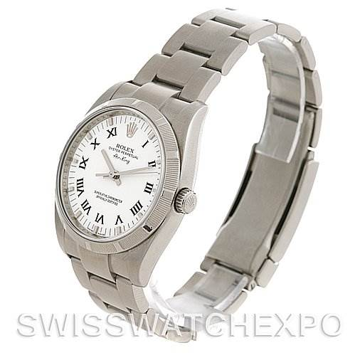 2637 Rolex Oyster Perpetual Air King Watch 114210  SwissWatchExpo