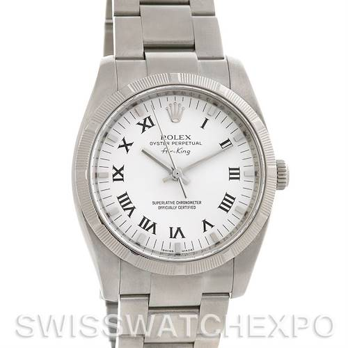 Photo of Rolex Oyster Perpetual Air King Watch 114210