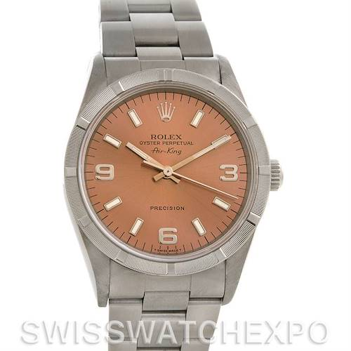Photo of Rolex Oyster Perpetual Air King Watch 14010 Box Papers