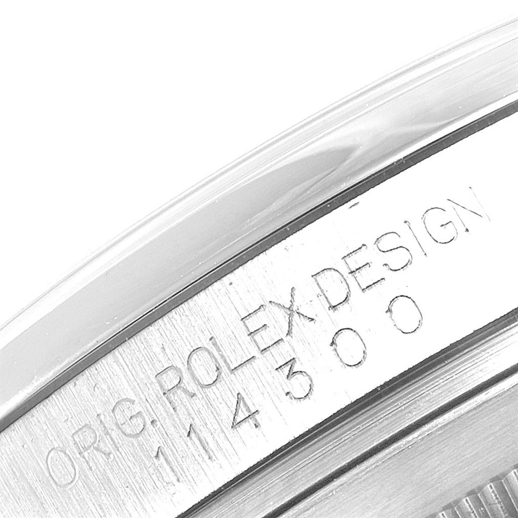 Rolex Oyster Perpetual 39 Stainless Steel Mens Watch 114300 Box SwissWatchExpo