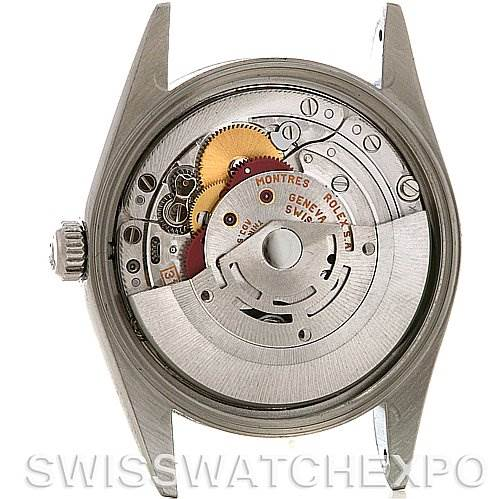 2668 Rolex  Oyster Perpetual Air King Steel Watch 14000M SwissWatchExpo