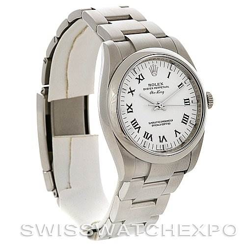 2868 Rolex  Oyster Perpetual Air King 114200 Year 2009 w Box SwissWatchExpo