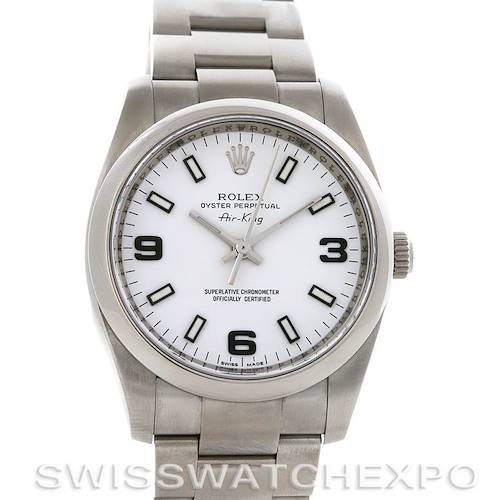 Photo of Rolex Rolex Oyster Perpetual Air King 114200 Year 2007 w Box
