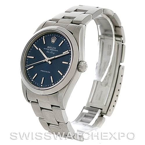 2865 Rolex  Oyster Perpetual Air King Steel Watch 14000M SwissWatchExpo