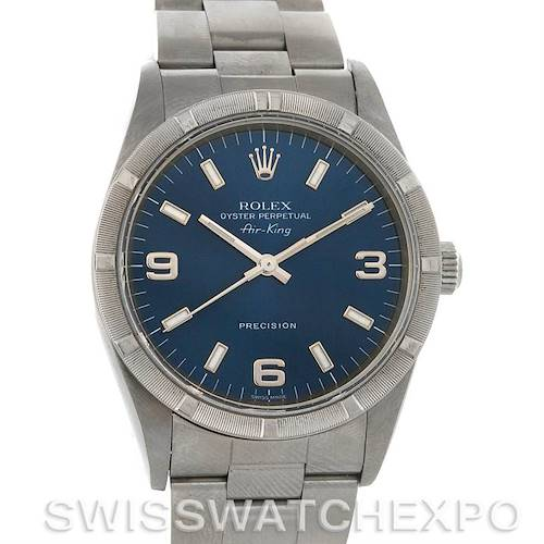Photo of Rolex Oyster Perpetual Air King Steel Watch 14010