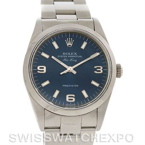 Photo of Rolex Rolex Oyster Perpetual Air King Steel Watch 14000
