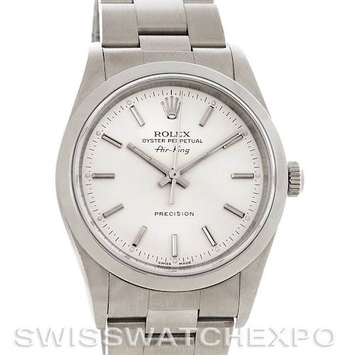 Photo of Rolex Oyster Perpetual Air King Steel Watch 14000M