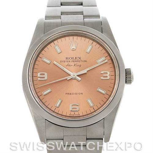 Photo of Rolex Oyster Perpetual Air King Steel Watch 14000 M