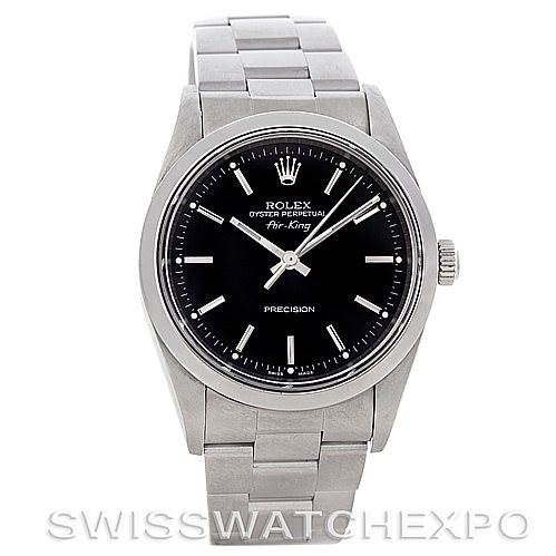 4585 Rolex Oyster Perpetual Air King Watch 14000 SwissWatchExpo