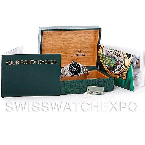 5011 Rolex Oyster Perpetual Air King Watch 14000 SwissWatchExpo