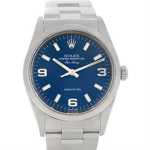 Photo of Rolex Oyster Perpetual Air King Steel Watch 14000