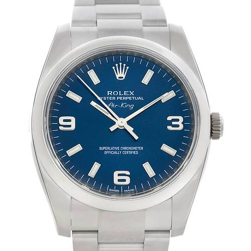 Photo of Rolex Oyster Perpetual Air King 114200 Year 2012 Unworn