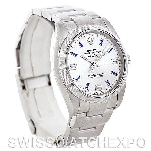 5463 Rolex Oyster Perpetual Air King Watch 114210 SwissWatchExpo