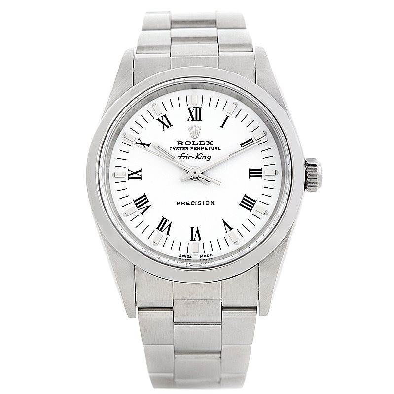 6349 Rolex Oyster Perpetual Air King Watch 14000 SwissWatchExpo