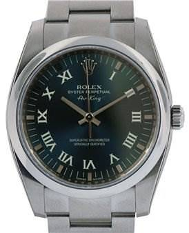 Photo of Rolex Mens Ss Oyster Perpetual Air King 114200
