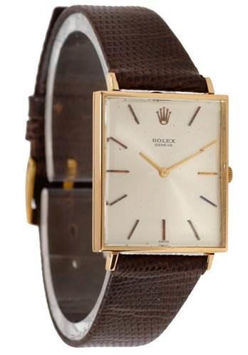 Rolex vintage 18k Yellow Gold Cellini 3607 SwissWatchExpo