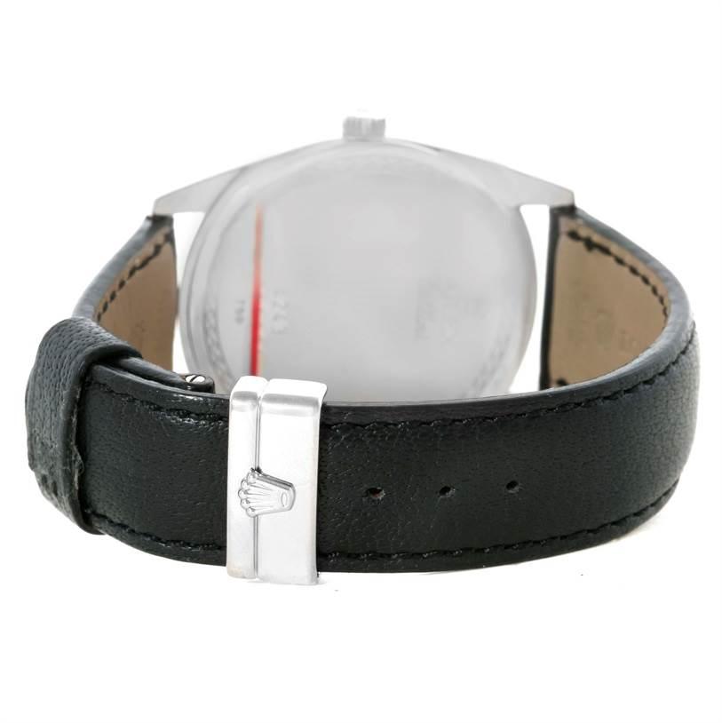 11410 Rolex Cellini Danaos 18k White Gold Silver Dial Watch 4243 Unworn SwissWatchExpo
