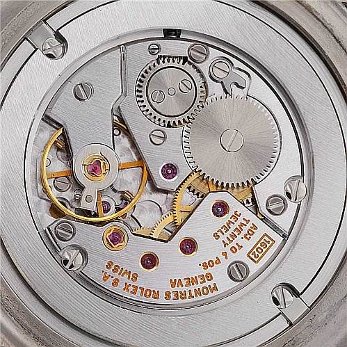 Rolex Cellini Danaos Watch 4233 18k White & Rose Gold SwissWatchExpo