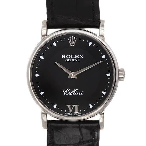Photo of Rolex Cellini Classic 18k White Gold Watch 5115/9