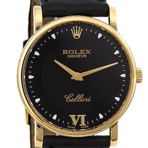 Photo of Rolex Cellini Classic 18k Yellow Gold Watch 5115